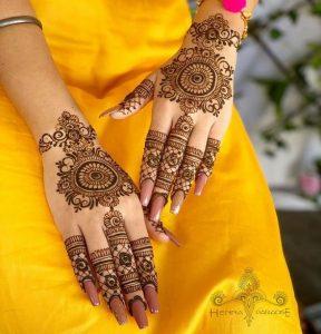 Latest Modern Mehndi Designs