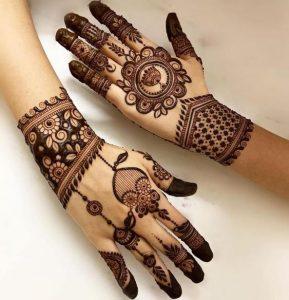 Latest Trending Modern Mehndi Designs