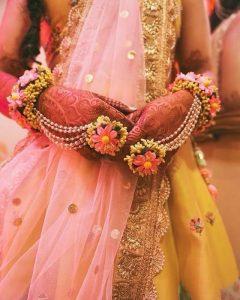 Floral Modern Mehendi Design Accessories