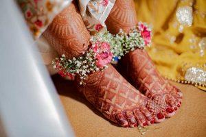 Floral Mehendi Design Accessories